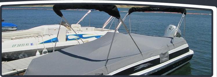 Lake Piru Client Dock C15 Full Custom Double Stainless