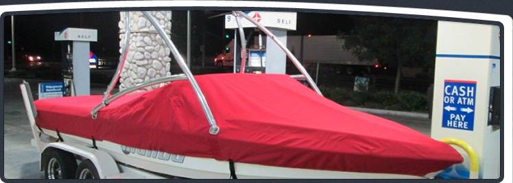 Canyon Lake Malibu Wakeboard Boat Cover In Jockey Red ...