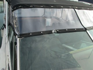 Huntington Beach Client With Front Eisenglass Replacement