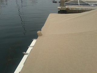 San Diego Marina Village Fully Custom Mooring Cover And