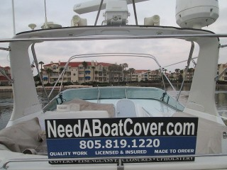 Mandalay Bay 50ft Carver Yacht Enclosure Fabrication